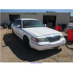 2001 - MERCURY GRAND MARQUIS//RESTORED SALVAGE