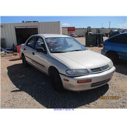 1996 - MAZDA PROTEGE//RESTORED SALVAGE TITLE