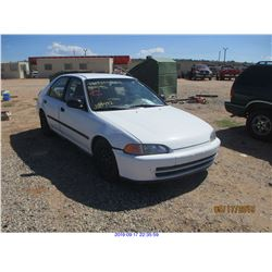 1995 - HONDA CIVIC//RESTORED SALVAGE