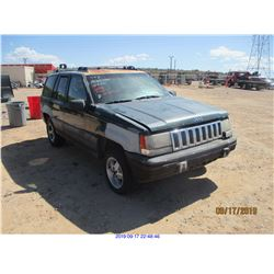 1996 - JEEP CHEROKEE//SALVAGE TITLE