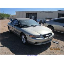 1999 - CHRYSLER SEBRING