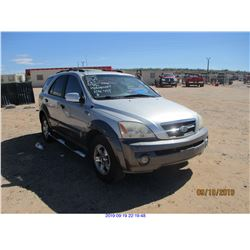 2004 - KIA SORENTO//RESTORED SALVAGE TITLE