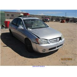 2004 - KIA SPECTRA// RESTORED SALVAGE TITLE