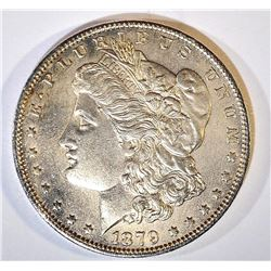 1879-O MORGAN DOLLAR BU CLEANED