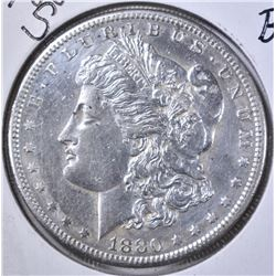 1880-S MORGAN DOLLAR, BU