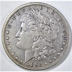 1892-S MORGAN DOLLAR XF