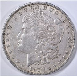 1878 7TF MORGAN DOLLAR, AU