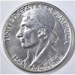 1935-D BOONE COMMEM HALF DOLLAR  CH BU