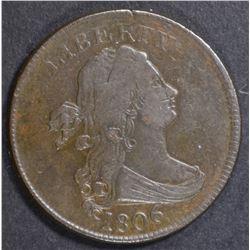 1806 HALF CENT  AU