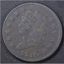 1810 LARGE CENT  XF  DARK