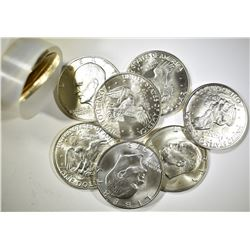 Roll of 1973-S Unc. Eisenhower Silver Dollars.