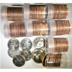 BU KENNEDY HALF DOLLAR LOT: