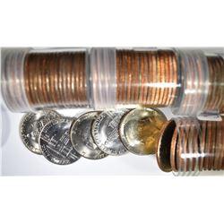 BU KENNEDY HALF DOLLAR ROLL LOT: