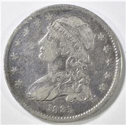 1835 BUST QUARTER VF
