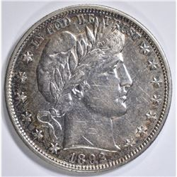1892 BARBER HALF DOLLAR AU/BU
