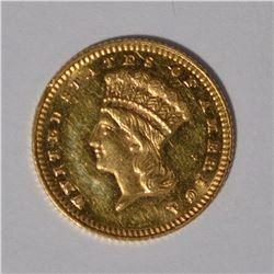 1878 $1 GOLD BU