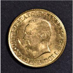 1916 McKINLEY $1 COMMEM GOLD CH BU