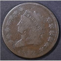 1812 LARGE CENT, VG corrosion