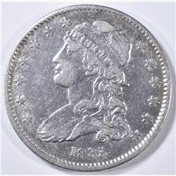 1835 BUST QUARTER XF