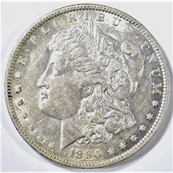 1890-O MORGAN DOLLAR AU/BU