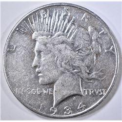 1934-S PEACE DOLLAR, XSF