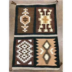 Four Panel Navajo Textile