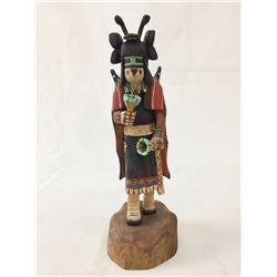 Signed Hopi Kachina