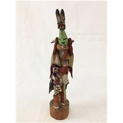 Signed Hopi Kachina - Yahdema