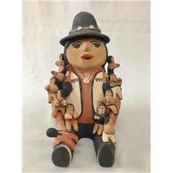 Jemez Pueblo Storyteller Pottery