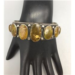 Vintage Seven Stone Navajo Bracelet