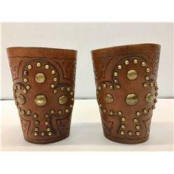 Studded Cowboy Wrist Cuffs