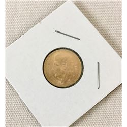 1955 Gold Cinco Peso Coin