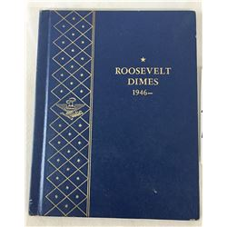 Complete Book of Roosevelt Dimes - 1946 to 1965