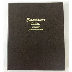 Book Eisenhower Dollars - Complete Set - Gem and Proof Condition