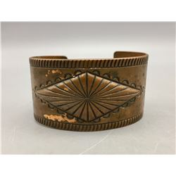 Bell Trading Post Solid Copper Bracelet