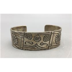 Northwest Coast Sterling Silver Bracelet