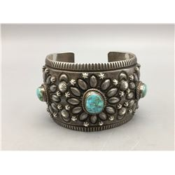 Three Stone Navajo Bracelet