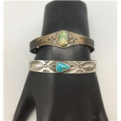 Two Fred Harvey Era Bracelets