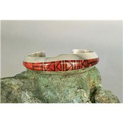 Fine Navajo Inlay Bracelet