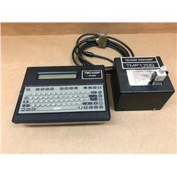 TELESIS TMC420P PINSTAMP PANEL CONTROLLER W/ TMP1700 MARKING HEAD