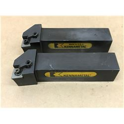 (2) KENNAMETAL DCLNR-246E LATHE TOOL HOLDER