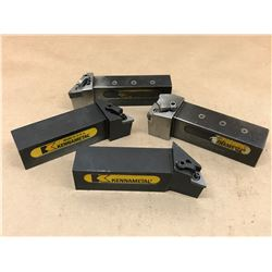 (4) KENNAMETAL MISC. LATHE TOOL HOLDER *SEE PICS FOR PART #*