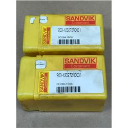(2) SANDVIK 203 12 3272 R 0031 INDEXABLE MILL
