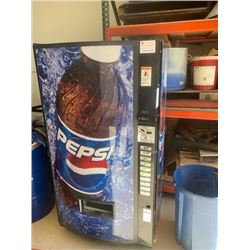 Pepsi Cola Dispensing Machine Model#540PCD00039 991108