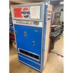 Vintage Pepsi Cola Dispensing Machine