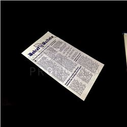 Scary Stories to Tell in the Dark - Bobcat Bulletin Newspaper Prop (0157)