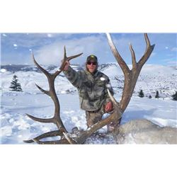 5-day Montana Rocky Mountain Elk and Deer Hunt for One Hunter