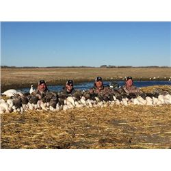 3-day Saskatchewan Duck and Goose Hunt for Two Hunters