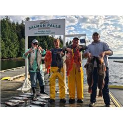 3-night/2-day Alaska Salmon, Halibut, Ling Cod and Rock-Fish Fishing Trip for Two Anglers