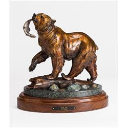 Bronze Sculpture - Grizzly Bear